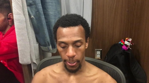 Detroit Pistons' Ish Smith discusses return from injury vs. Utah Jazz