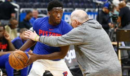 Time for Khyri Thomas? Detroit Pistons rookie gets key minutes in loss