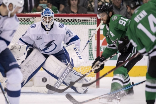 Lightning Ready To Strike in Dallas Tonight as Stars Look for Win