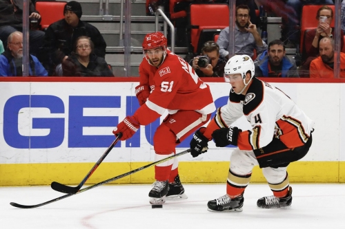Red Wings vs. Ducks — Updates, Projected Lines and Keys to the Game