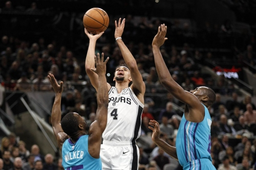 Derrick White makes manufacturing points look effortless