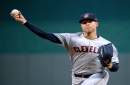 Report: Corey Kluber in potential three-team trade explored by Reds, Padres, Indians