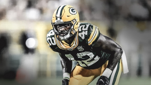Packers' Oren Burks already excited about second season with Green Bay