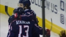 Atkinson opens scoring for Blue Jackets just 45 seconds in