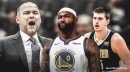 Nuggets coach Mike Malone says Warriors star DeMarcus Cousins reminds him of Nikola Jokic
