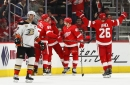 Ducks lose game to Red Wings, their 12th in row, plus 2 more players to injury