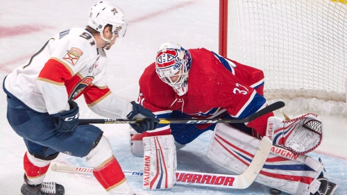 Niemi has 52 saves, Canadiens extend streak with win over Panthers