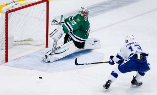 One of the Stars' most confusing trends continued after their loss to NHL-power Tampa Bay