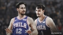 Video: Sixers' T.J. McConnell gives former teammate Dario Saric love tap after scoring on him