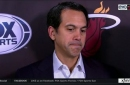 "Erik Spoelstra describes tonight's loss as ""a game that he can't wrap his mind around"""
