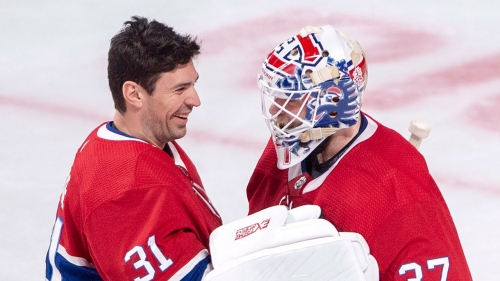 Niemi's improbable redemption with Canadiens hits peak in win over Panthers