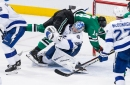 Stars lament missed chance at 5-on-3 advantage during loss to Tampa Bay