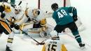 Hertl's hat trick helps Sharks knock off Penguins