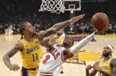 Ball scores 19 as Lakers deal Bulls eighth straight loss