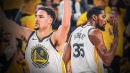 Warriors' Kevin Durant trolls Klay Thompson for ugly dunks