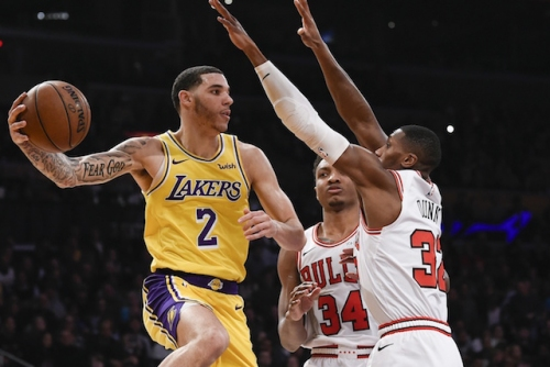 Lakers Highlights: Lonzo Ball, Brandon Ingram Shine As L.A. Survives Late-Game Issues To Defeat Bulls