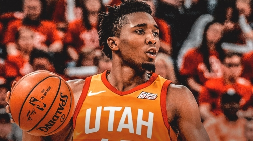 Jazz star Donovan Mitchell is rounding into form