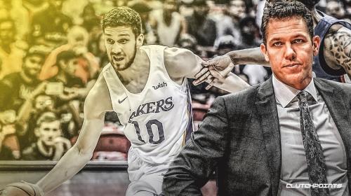 Lakers coach Luke Walton trying to find consistent role for Svi Mykhailiuk