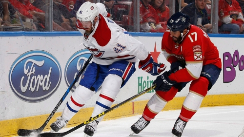 Canadiens' Paul Byron to have hearing for hit on Panthers' MacKenzie Weegar