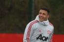 Alexis Sanchez returns to Manchester United training after missing Spurs clash