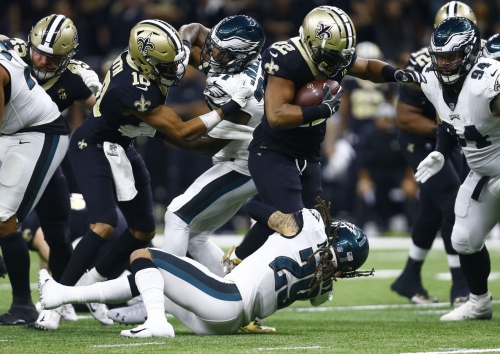 Ingram goza los playoffs ante futuro incierto con Saints