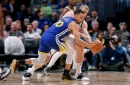 Warriors take first place after statement win in Denver