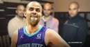Hornets' Tony Parker was pleasantly surprised to see family show up for Spurs game