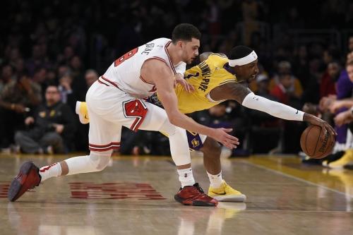 Bulls vs. Lakers highlights: The Core can't score