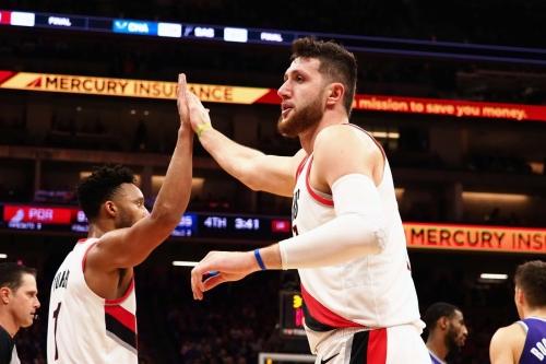 Blazers Receive a 'B' on Midseason NBA Report Card