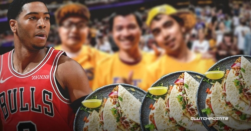 Video: Lakers fan irate at Bulls for spoiling free tacos promo by reaching 100 points