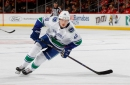 Canucks rookie Elias Pettersson 'feeling good' but looking at Friday return