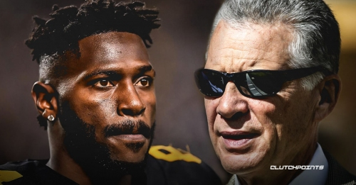 Art Rooney II claims there's been no trade talks involving Steelers WR Antonio Brown just yet