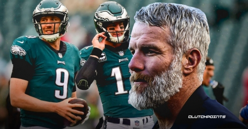 Brett Favre says Eagles should stick with Nick Foles over Carson Wentz