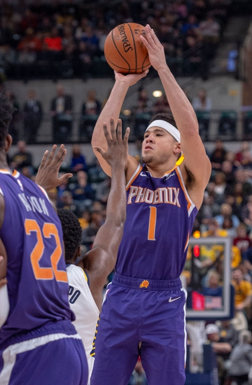 Phoenix Suns: Devin Booker talks charities, Big Blue Nation – and bad return from back spasms