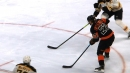 Flyers' Giroux picks up 500th career assist on Lindblom goal