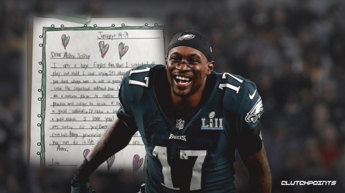 Second grader writes letter for Alshon Jeffery to cheer receiver up