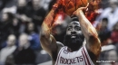 None of Rockets star James Harden's baskets in back-to-back 50-point games came from an assist
