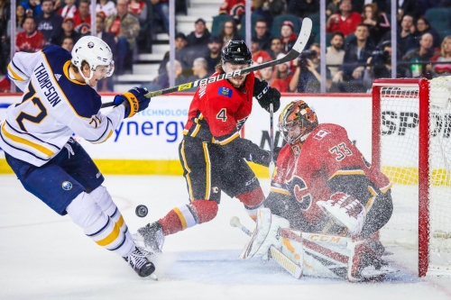 Calgary Flames (3) vs Buffalo Sabres (4) OT: Flames Winning Streak Stopped At 5