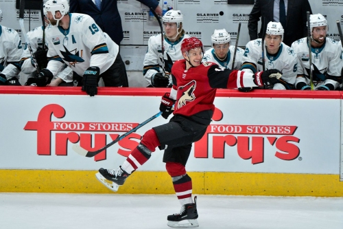 Sharks 3, Coyotes 6: Desert dogs hand Sharks first loss of 2019