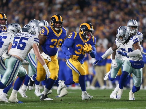 Did the Cowboys fall short of expectations in Los Angeles?