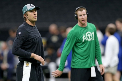 The Linc - Doug Pederson's old friend thinks Eagles should keep Nick Foles over Carson Wentz