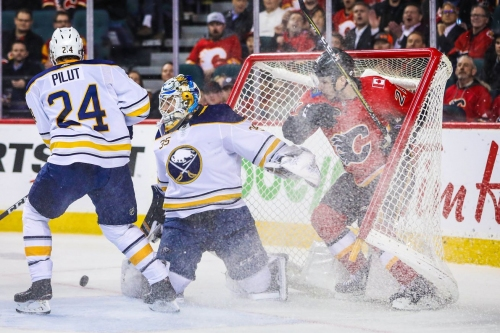 Recap: Sabres douse Flames, secure victory in overtime