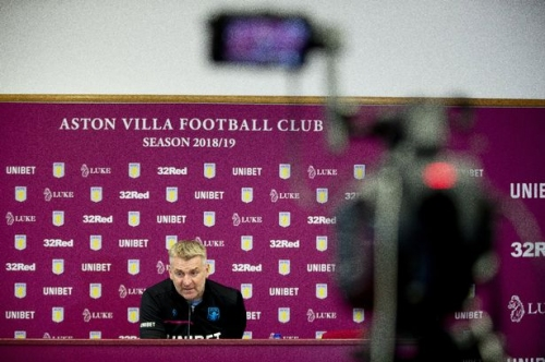 Watch Aston Villa boss Dean Smith's Hull City press conference LIVE