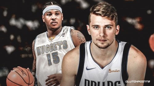 Luka Doncic ties Carmelo Anthony's teenager scoring record