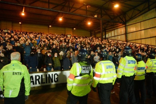 REVEALED: The 14 complaints about policing at Stoke City and Port Vale matches in last five years - including being bitten by dog