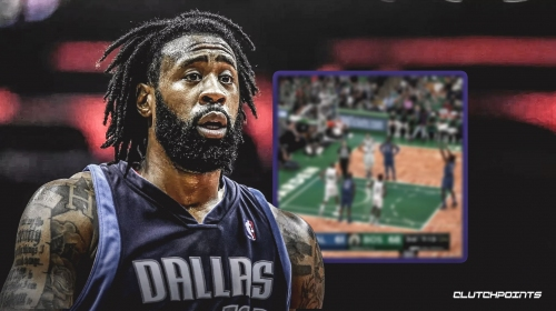 Video: Mavs' DeAndre Jordan has a peculiar free-throw routine