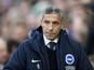 Boss Hughton happy for Brighton's progress to go unnoticed
