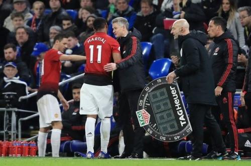 Anthony Martial backs Ole Gunnar Solskjaer for Manchester United manager's job
