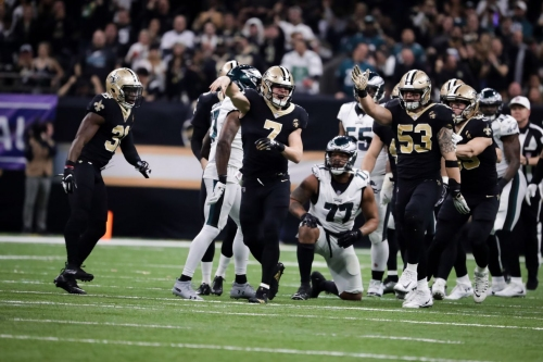 Saints apparently saw Fletcher Cox as a weak point to attack on their fake punt attempt