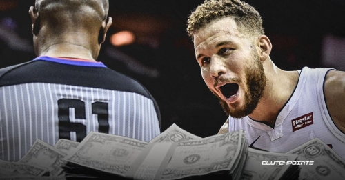 Pistons' Blake Griffin fined $15,000 for verbal abuse toward ref